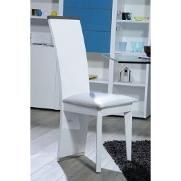 Sciae Furniture Smooth Dining Chair - 36 White - No 11 Dining Chair