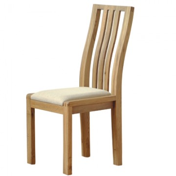 Ercol Bosco 1383 Dining Chair with Cream Fabric Seat