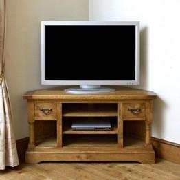 Old Charm Chatsworth CT2884 Corner TV Cabinet