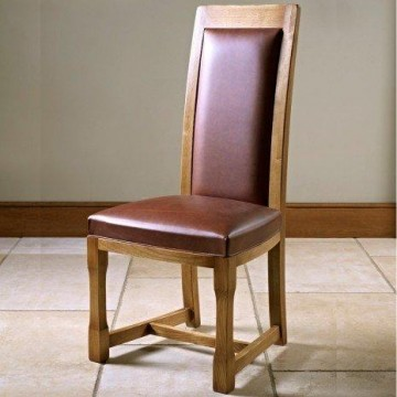Old Charm Chatsworth CT2899 Dining Chair in Leather
