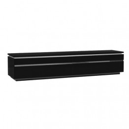 Sciae Furniture Electra 38 Black - No 38 Large TV HIFI bench with lights