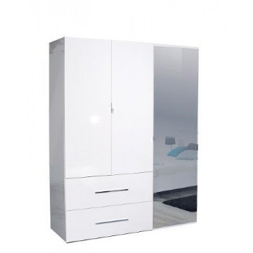 Sciae Furniture First 36 Wardrobe - No 33 3 Opening Doors Wardrobe