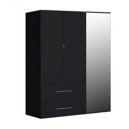 Sciae Furniture First 38 Wardrobe - No 33 3 Opening Doors Wardrobe