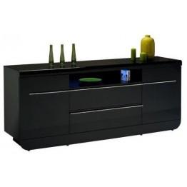 Sciae Furniture Floyd Sideboard - 38 Black - No 14 Sideboard 2 doors and 2 drawers