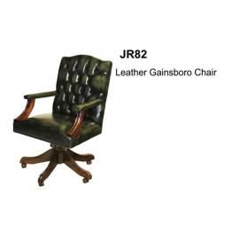 Leather Gainsborough Chair | Reproduciton Furniture