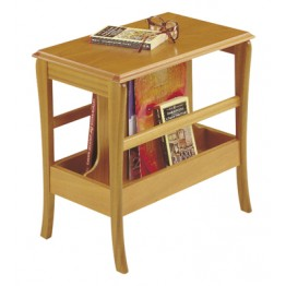 821 Sutcliffe Trafalgar Occasional Table With Magazine Rack