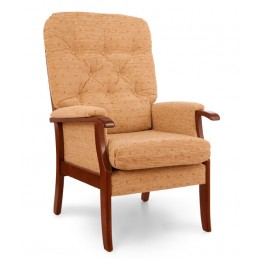 Radley High Back Chair - Standard Seat Height