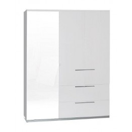 Sciae Furniture Sunrise 36 Wardrobe - No 33 3 Doors Wardrobe