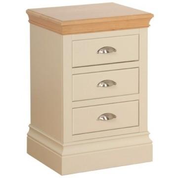 Lundy 3 Drawer Bedside