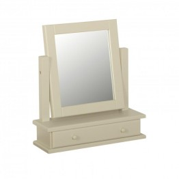 Lundy Chunky Single Mirror With Drawer