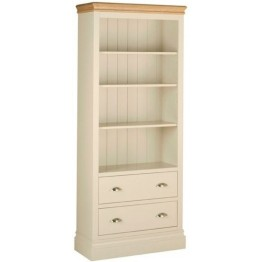 Lundy 6' Bookcase + Drawers