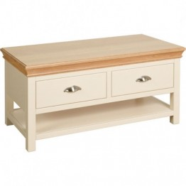Lundy Coffee Table With Drawers