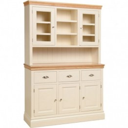 "Lundy 4'6"" Glazed Top Dresser"