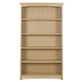Nathan Oak 8991 Tall Double Bookcase NEB-8991-OK