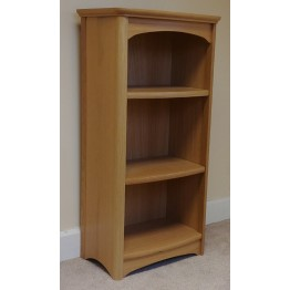 Nathan Oak 8994 Mid Single bookcase - NEB-8994-OK