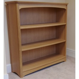 Nathan Oak 8993 Mid Double Bookcase NEB-8993-OK