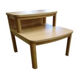 Nathan Oak Bedroom 7415 Waterfall Bedside Table