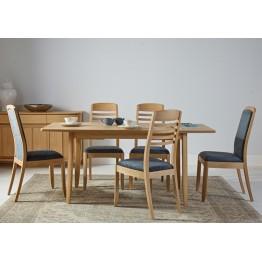Nathan Oak 3805 Fully Upholstered Dining Chair NSD-3805-OK