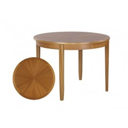 2904 Nathan Shades Sunburst Round Dining Table - NSD-2904-TK