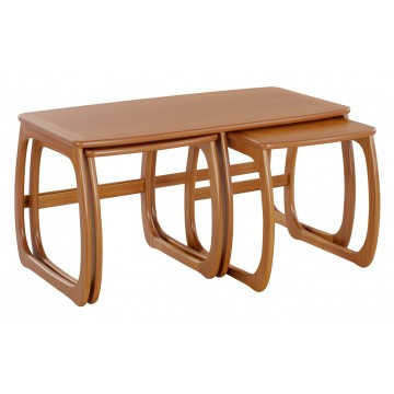 5424 Nathan Classic Burlington Coffee Table Nest NCL-5424-TK