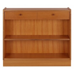 6454 Nathan Classic Low Open Bookcase NCL-6454-TK