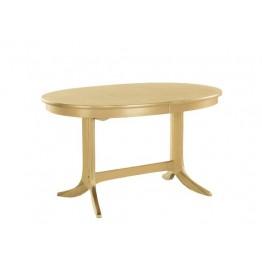 Nathan Oak 2115 Oval Pedestal Dining Table in Oak Finish NCD-2115-OK