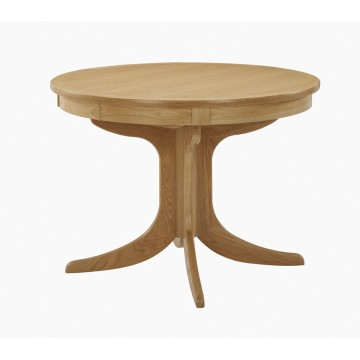 Nathan Oak 2125 Circular Pedestal Dining Table  NSD-2125-OK