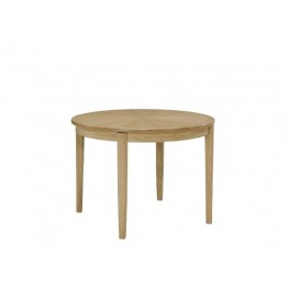 Nathan Oak 2135 Circular Dining Table on Legs NSD-2135-OK