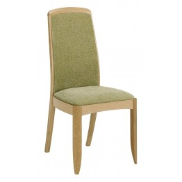 Nathan Oak 3805 Fully Upholstered Dining Chair NSD-3805-OK