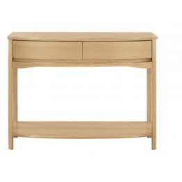 Nathan Oak 5855 Shaped Console Table NSH-5855-OK