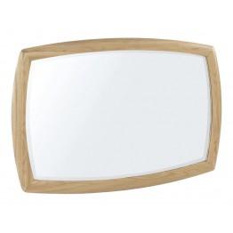 Nathan Oak 5865 Shaped Wall Mirror NSH-5865-OK