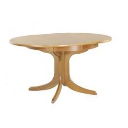 2124 Nathan Classic Circular Pedestal Dining Table NSD-2124-TK