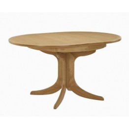 Nathan Oak 2125 Circular Pedestal Dining Table