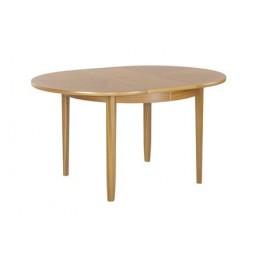 2134 Nathan Shades Circular Dining Table on Legs