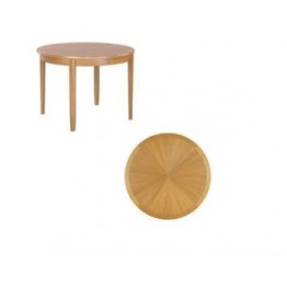 2904 Nathan Shades Sunburst Round Dining Table
