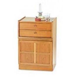 4014 Nathan Classic 2 Drawer Mid Storage Unit NCL-4014-TK