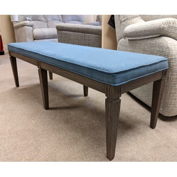 Nathan Helsinki Bench with upholstered top  - ONLY ONE LEFT