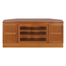 5254 Nathan Classic Corner TV Unit in Teak  NCL-5254-TK