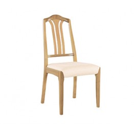 3115 Nathan Slat Back Dining Chair in Oak Finish