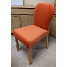 Nathan Oak 3965 Upholstered Dining Chair