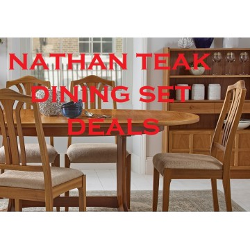 Nathan Teak Dining Set Deal - Configure your perfect dining suite!