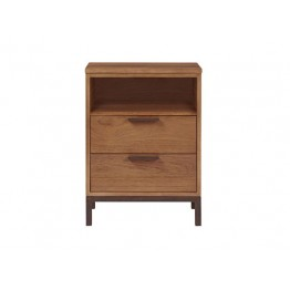Nathan Palma Two Drawer Open Top Nightstand NVP-15214-TK