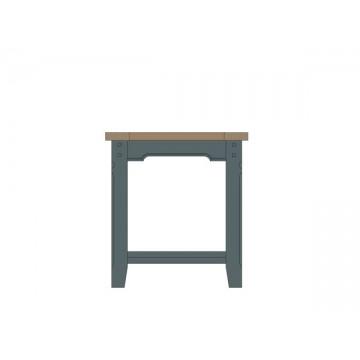 Nathan Tiverton Side Table with Shelf