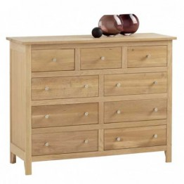 Corndell Nimbus 1210 3 + 6 drawer chest of drawers