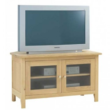 Corndell Nimbus 1264 Glazed Corner TV Cabinet  - Code 2534