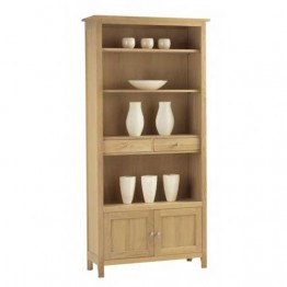 Corndell Nimbus 1269 Large Bookcase with Cupboard and Drawers  - Code 2547
