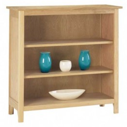 Corndell Nimbus 1276 2 Shelf Bookcase 94cm High x 97cm Wide