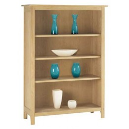 Corndell Nimbus 1277 3 Shelf Bookcase - 134cm High x 97cm Wide