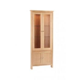 Corndell Nimbus 1450 Corner Glazed Display Cabinet