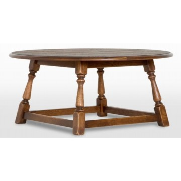 3176 Wood Bros Old Charm Round Coffee Table